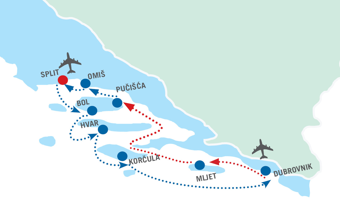 Kleopatra - A110 - Adriatic Cruise from Split | Atlas